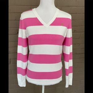 Lilly Pulitzer Wide stripe sweater M